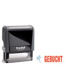 Office Stempel 4912 GEBUCHT